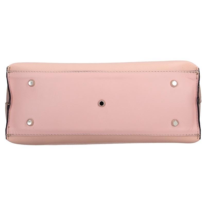 Dámská kožená kabelka Facebag Nina - růžová