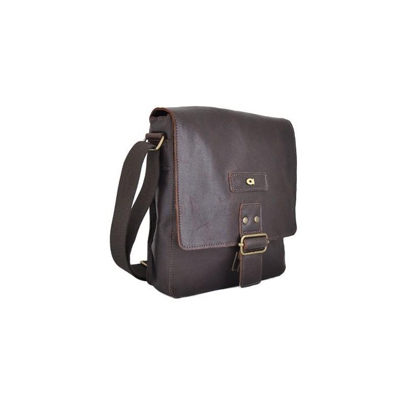 Pánská taška Daag JAZZY ORGANIC 3 - tmavě hnědá