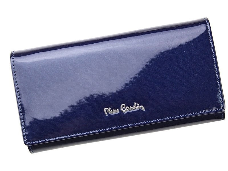 Dámská kožená peněženka Pierre Cardin Nicol - modrá
