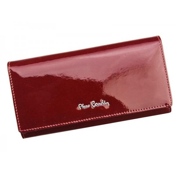 Dámská kožená peněženka Pierre Cardin Romano - červená