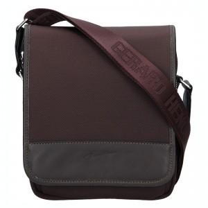 Pánská taška přes rameno Gérard Henon Marco - hnědá