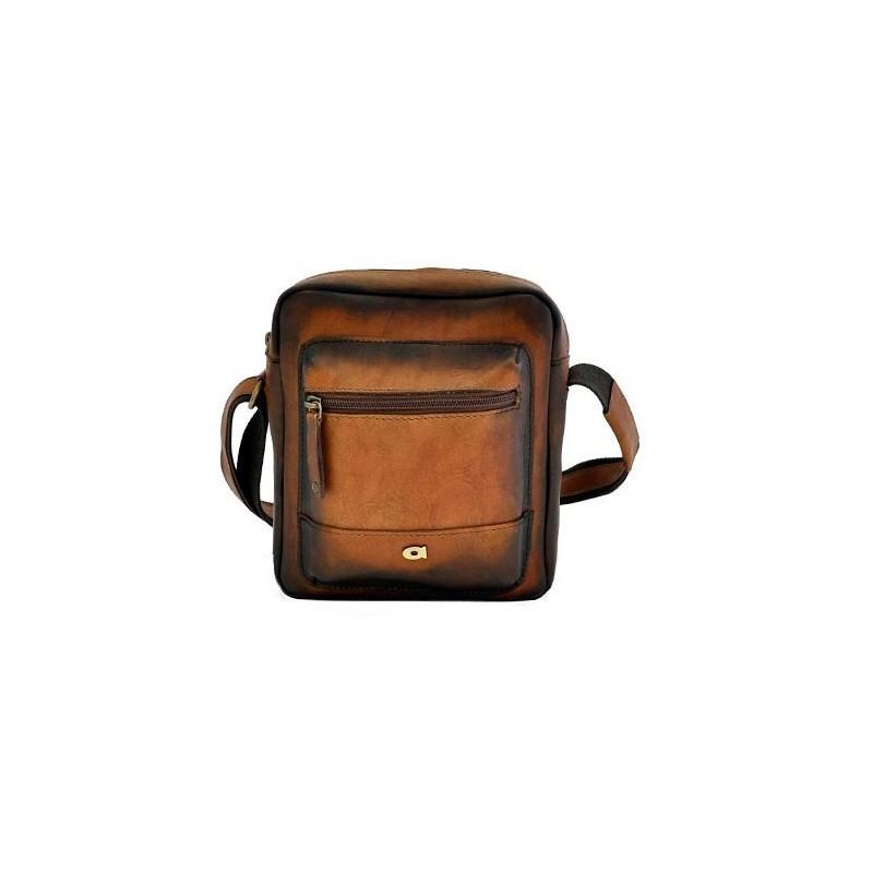 Luxusní pánská kožená taška Daag ALIVE 30 - hnědá