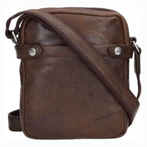 Pánská taška přes rameno Gérard Henon Tommas - hnědá