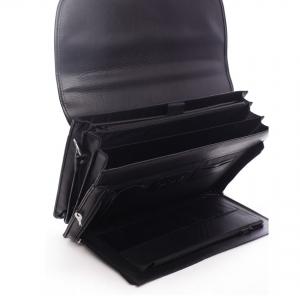 Pracovní pánská aktovka Bellugio Deren - černá