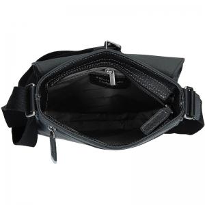 Pánská taška přes rameno Gérard Henon Tibor - černá