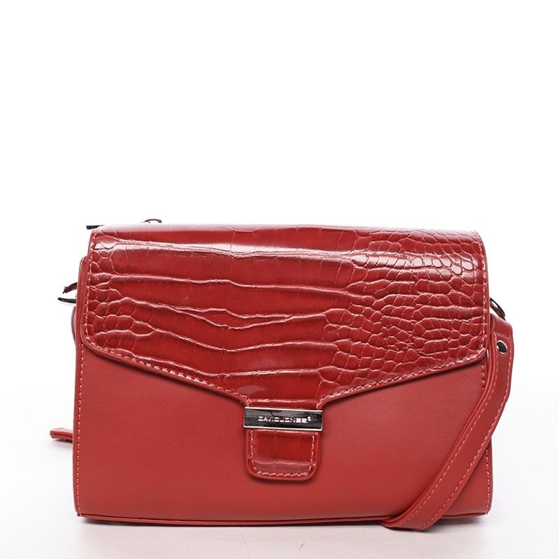 Dámská kabelka David Jones Halina - červená f7f28091e47