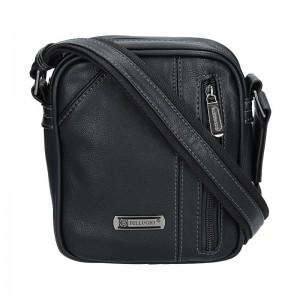 Pánská taška přes rameno Bellugio Noel - černá