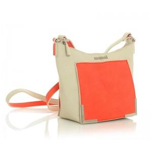 Dámská kabelka Monnari 2020b - béžovo-červená