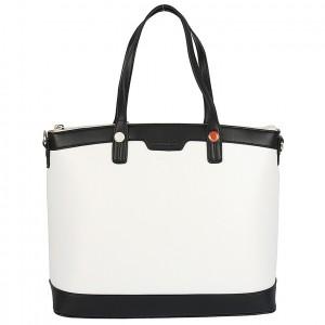 Dámská kabelka Monnari 0180 - černo-bílá