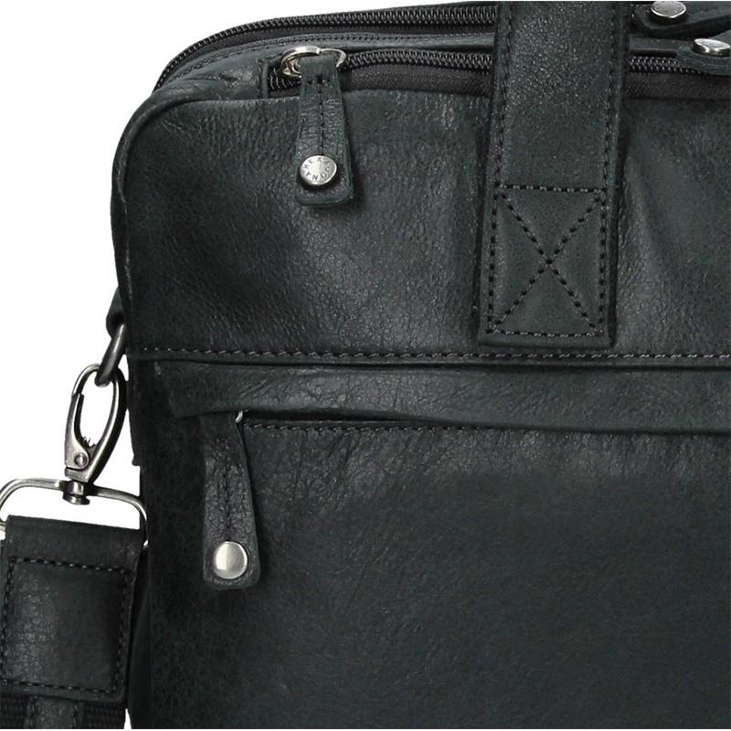 Pánská kožená taška přes rameno Hexagona Bertram