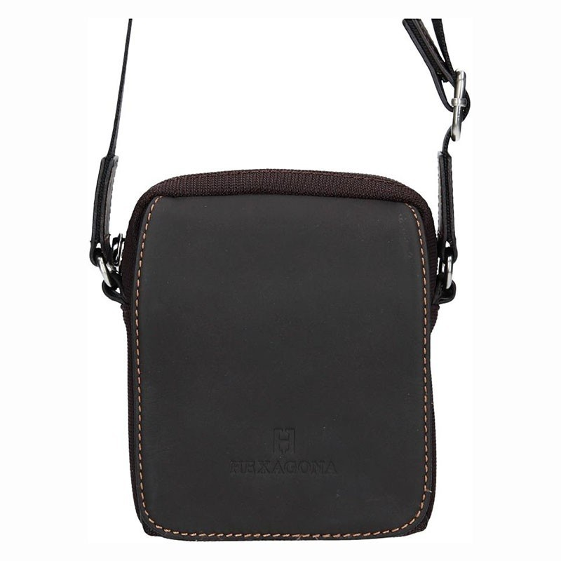 Pánská taška na doklady Hexagona Martin - hnědá