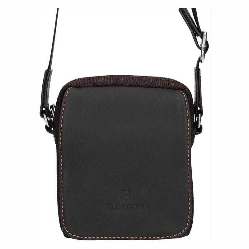 Pánská taška na doklady Hexagona Martin - hnědá d64fb315db