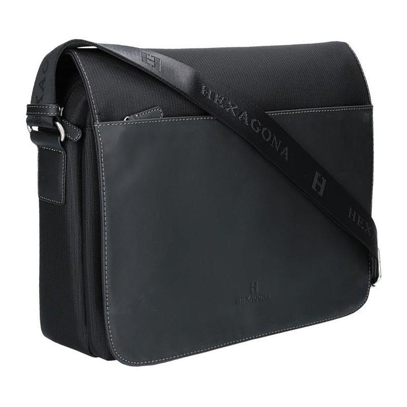 Pánská taška přes rameno Hexagona 292682 - černá