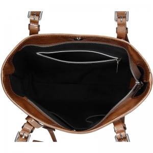 Dámská kabelka Facebag Nora - hnědá