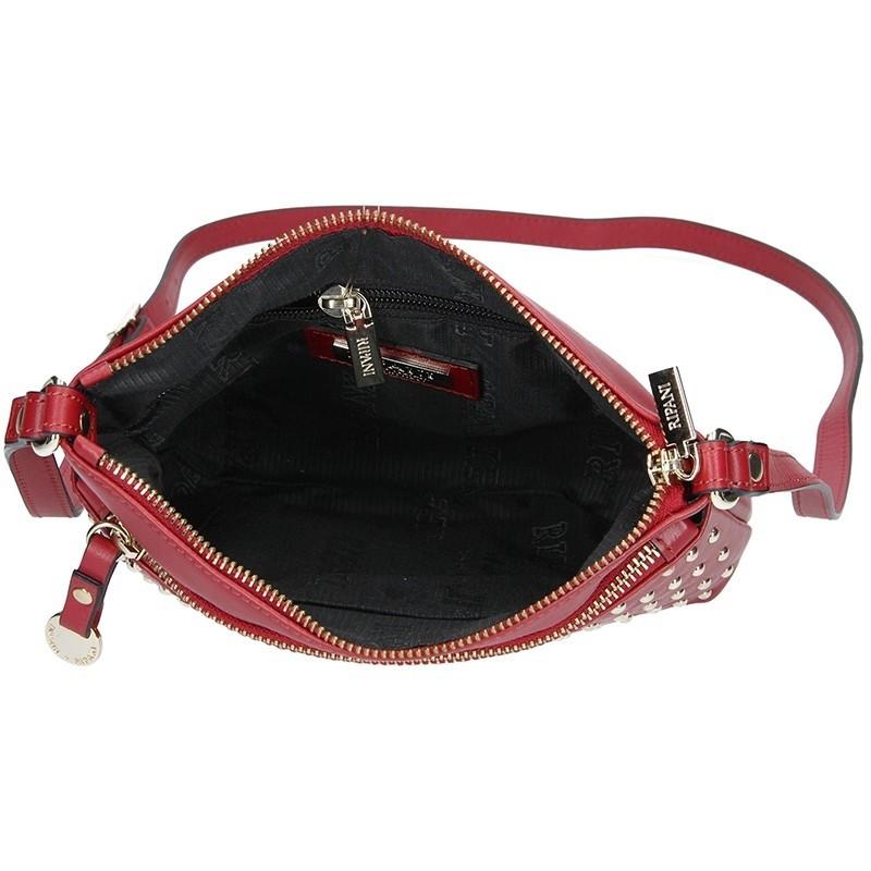 Dámská kožená kabelka Ripani Ember - červená
