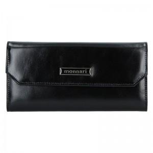 Dámská kožená peněženka Monnari 0040 - černá