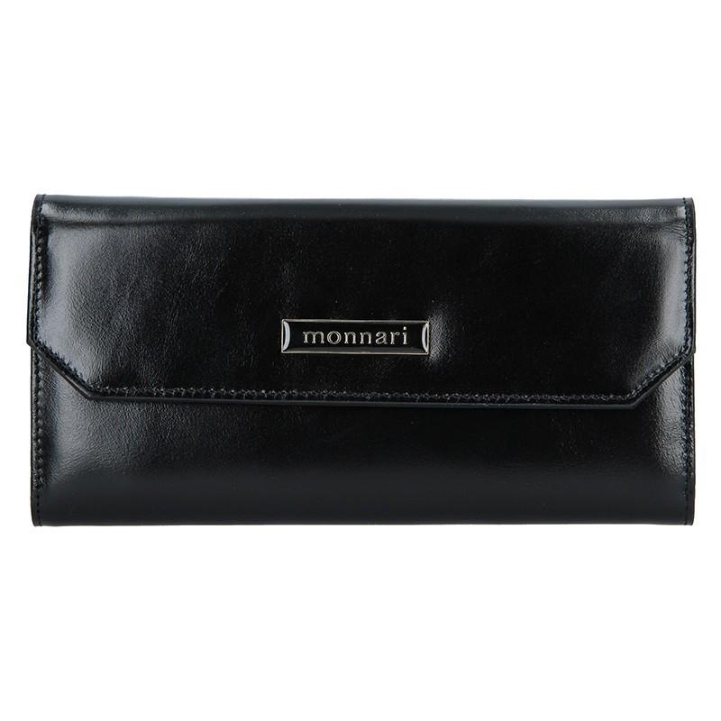 de26b1f758 Dámská kožená peněženka Monnari 0040 - černá