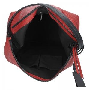 Dámská kožená kabelka Ripani Ghita - červená