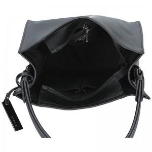 Dámská kožená kabelka Ripani Nina - černá