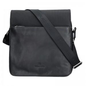 Pánská taška přes rameno Hexagona 292683 - černá