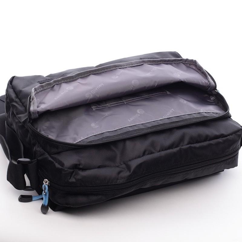 Pánská taška přes rameno Diviley Shaun - černá