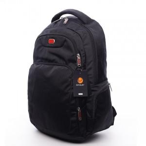 Černý moderní batoh Diviley Philip