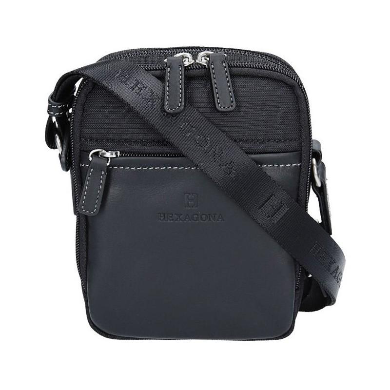 Pánská taška na doklady Hexagona 291329 - černá
