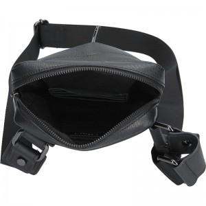 Luxusní kožená pánská taška Ripani Orion - černá