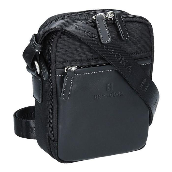 Pánská taška na doklady Hexagona 291329 - černá 03cfeff2f9