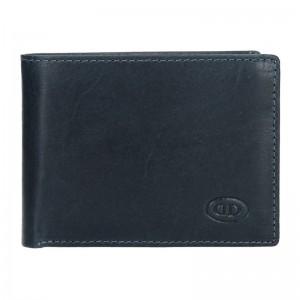 Pánská kožená peněženka DD Anekta Tibor - modrá
