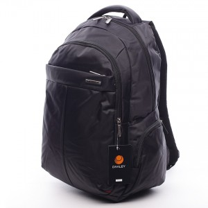 Černý moderní batoh Diviley Pierre