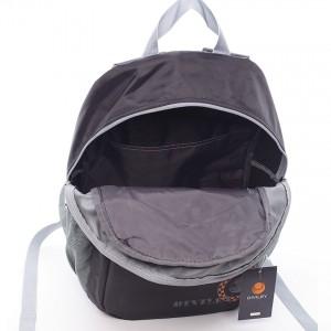 Černo-šedý moderní batoh Diviley Jett