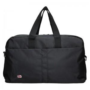 Cestovní taška přes rameno New Rebels Alex - černá