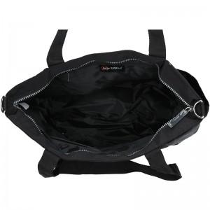 Dámská kabelka New Rebels Crincle Shopper - černá