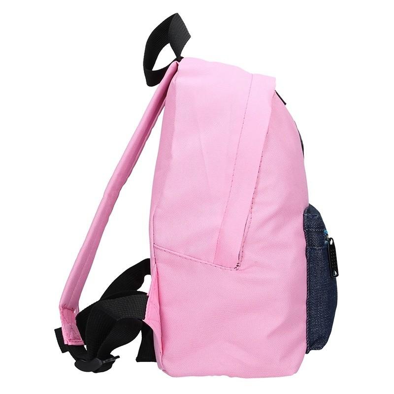 Menší dámský batoh New Rebels Laura - růžová