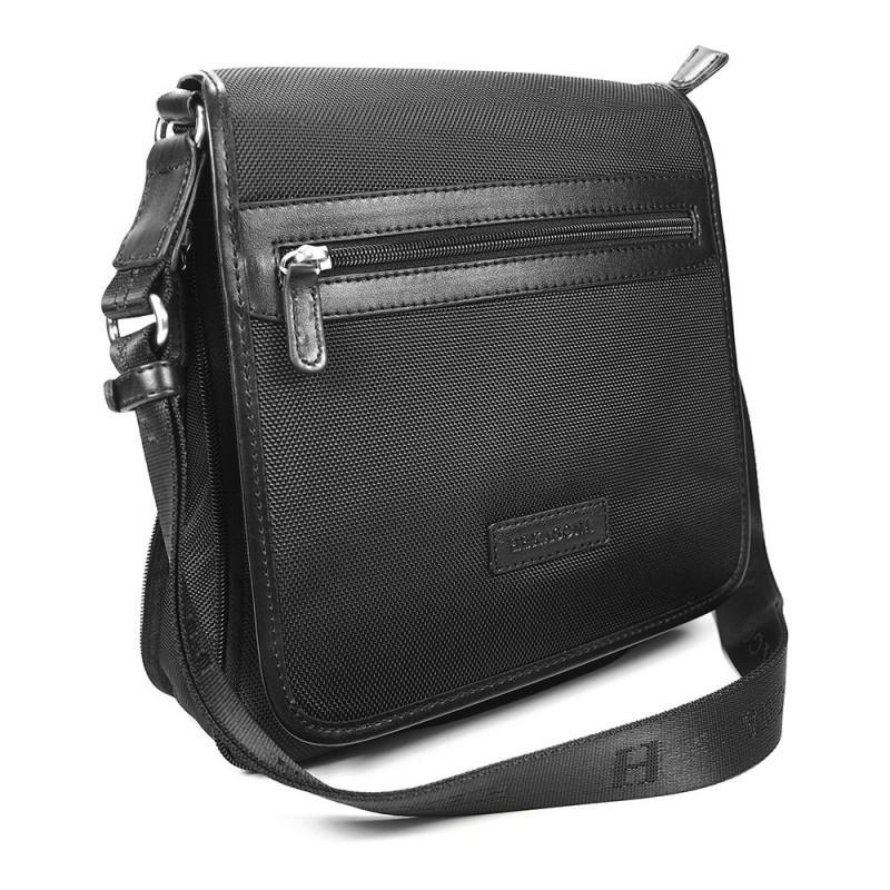 Pánská taška přes rameno Hexagona D72248 - černá
