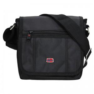 Pánská taška přes rameno New Rebels Albert - černá