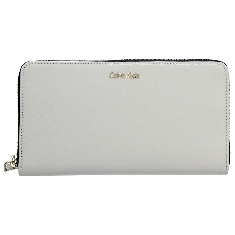 Dámská peněženka Calvin Klein Nora - slonová kost