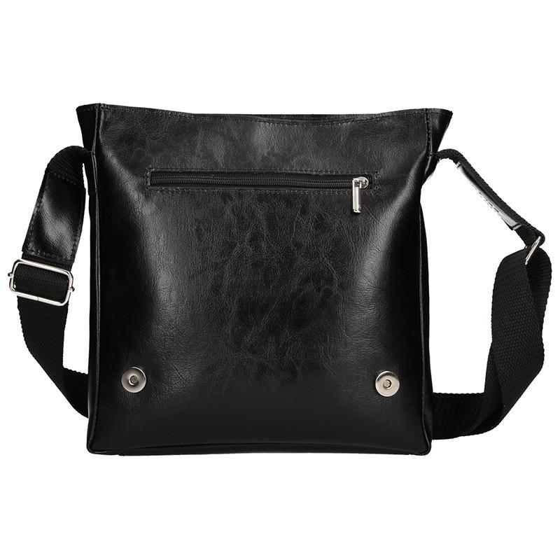 Pánská kožená taška na doklady Delami Marco - černá