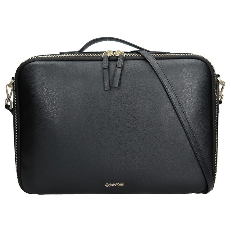 Dámská taška na notebook Calvin Klein Aurora - černá dc4762d49e