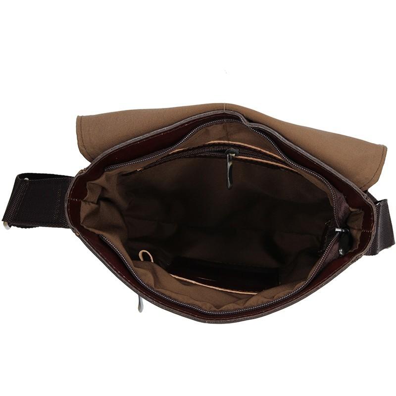 Pánská kožená taška na doklady Delami Marco - koňak