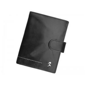 Pánská kožená peněženka Rovicky Gabriel - černá