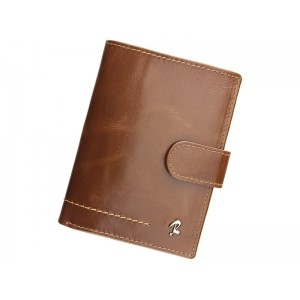 Pánská kožená peněženka Rovicky Gabriel - hnědá