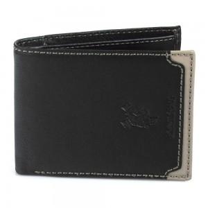 Pánská kožená peněženka Harvey Miller Fredy - černá