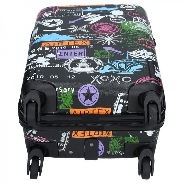 Cestovních kufr Airtex Paris 202/2 - černá