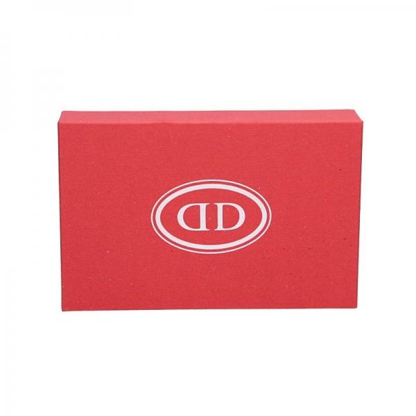Dámská kožená peněženka DD Anekta Dita - černo-bílá