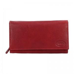 Dámská kožená peněženka DD Anekta Eliška - vínová