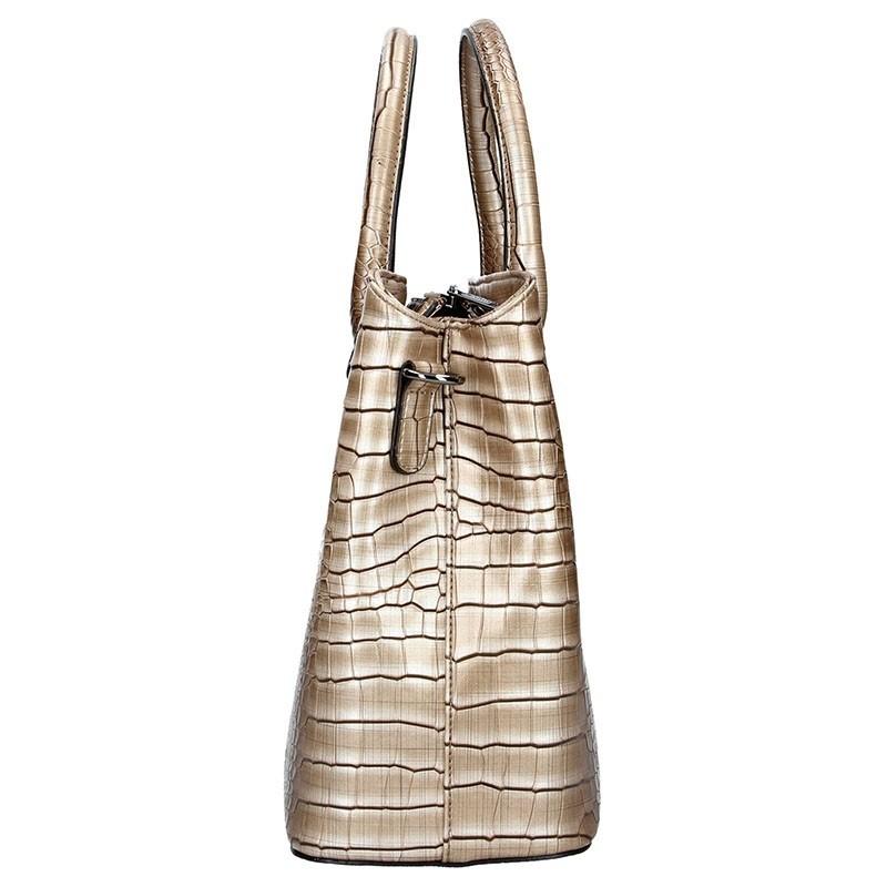 Dámská kabelka Hexagona 284925 - béžovo-hnědá