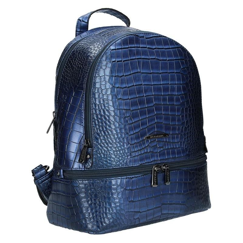 Dámský batoh Hexagona 284926 - modrá