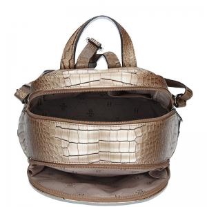 Dámský batoh Hexagona 284926 - béžovo-hnědá